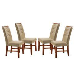 Kit-4-Cadeiras-de-Jantar-Estofada-Bege-em-Veludo-Hatlar