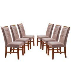 Kit-6-Cadeiras-de-Jantar-Estofada-Rose-em-Veludo-Hatlar