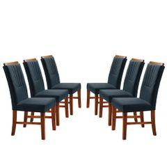 Kit-6-Cadeiras-de-Jantar-Estofada-Azul-em-Veludo-Hatlar
