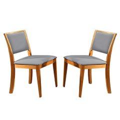 Kit-2-Cadeiras-de-Jantar-Estofada-Cinza-em-Veludo-Kalip