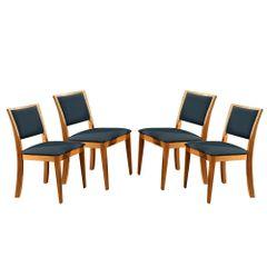 Kit-4-Cadeiras-de-Jantar-Estofada-Azul-em-Veludo-Kalip