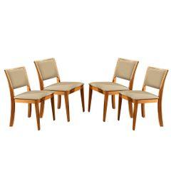 Kit-4-Cadeiras-de-Jantar-Estofada-Bege-em-Veludo-Kalip