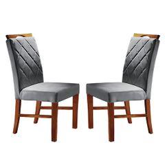 Kit-2-Cadeiras-de-Jantar-Estofada-Cinza-em-Veludo-Kare
