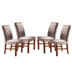 Kit-4-Cadeiras-de-Jantar-Estofada-Rose-em-Veludo-Kare