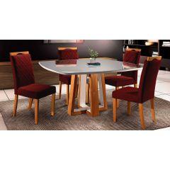 Kit-4-Cadeiras-de-Jantar-Estofada-Bordo-em-Veludo-Kare---Ambiente
