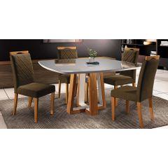 Kit-4-Cadeiras-de-Jantar-Estofada-Marrom-em-Veludo-Kare---Ambiente
