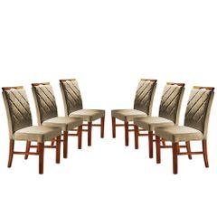 Kit-6-Cadeiras-de-Jantar-Estofada-Bege-em-Veludo-Kare