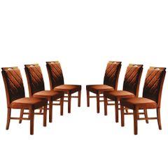 Kit-6-Cadeiras-de-Jantar-Estofada-Ocre-em-Veludo-Kare
