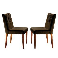 Kit-2-Cadeiras-de-Jantar-Estofada-Marrom-em-Veludo-Kurs