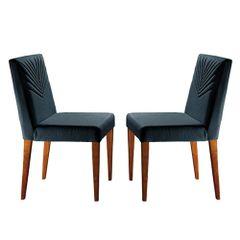 Kit-2-Cadeiras-de-Jantar-Estofada-Azul-em-Veludo-Kurs