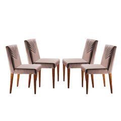 Kit-4-Cadeiras-de-Jantar-Estofada-Rose-em-Veludo-Kurs