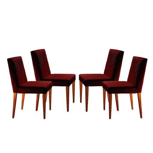 Kit-4-Cadeiras-de-Jantar-Estofada-Bordo-em-Veludo-Kurs