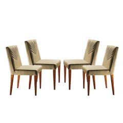 Kit-4-Cadeiras-de-Jantar-Estofada-Bege-em-Veludo-Kurs