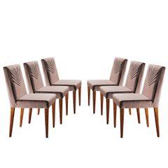 Kit-6-Cadeiras-de-Jantar-Estofada-Rose-em-Veludo-Kurs