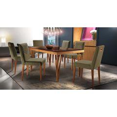 Kit-6-Cadeiras-de-Jantar-Estofada-Fendi-em-Veludo-Kurs---Ambiente