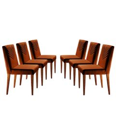 Kit-6-Cadeiras-de-Jantar-Estofada-Ocre-em-Veludo-Kurs