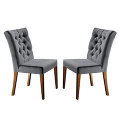 Kit-2-Cadeiras-de-Jantar-Estofada-Cinza-em-Veludo-Sedye