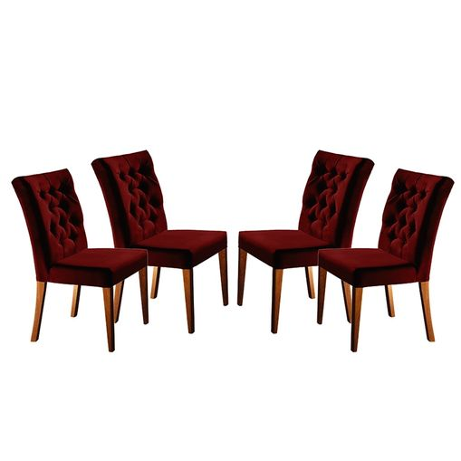 Kit-4-Cadeiras-de-Jantar-Estofada-Bordo-em-Veludo-Sedye