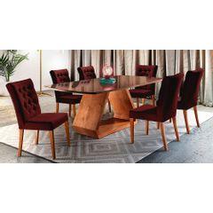 Kit-4-Cadeiras-de-Jantar-Estofada-Bordo-em-Veludo-Sedye---Ambiente