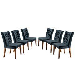 Kit-6-Cadeiras-de-Jantar-Estofada-Azul-em-Veludo-Sedye