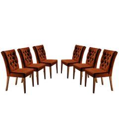 Kit-6-Cadeiras-de-Jantar-Estofada-Ocre-em-Veludo-Sedye