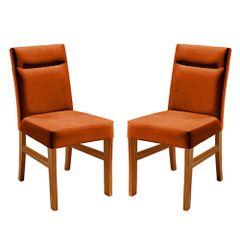 Kit-2-Cadeiras-de-Jantar-Estofada-Ocre-em-Veludo-Temel