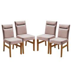 Kit-4-Cadeiras-de-Jantar-Estofada-Rose-em-Veludo-Temel