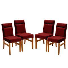 Kit-4-Cadeiras-de-Jantar-Estofada-Bordo-em-Veludo-Temel