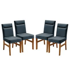 Kit-4-Cadeiras-de-Jantar-Estofada-Azul-em-Veludo-Temel