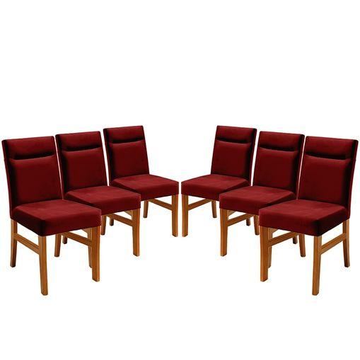 Kit-6-Cadeiras-de-Jantar-Estofada-Bordo-em-Veludo-Temel