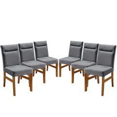 Kit-6-Cadeiras-de-Jantar-Estofada-Cinza-em-Veludo-Temel