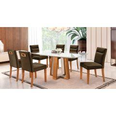 Kit-6-Cadeiras-de-Jantar-Estofada-Marrom-em-Veludo-Temel---Ambiente