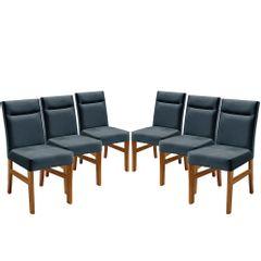 Kit-6-Cadeiras-de-Jantar-Estofada-Azul-em-Veludo-Temel