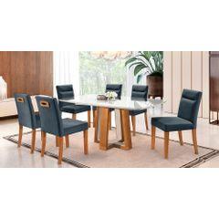 Kit-6-Cadeiras-de-Jantar-Estofada-Azul-em-Veludo-Temel---Ambiente