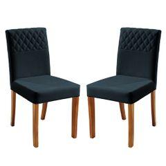 Kit-2-Cadeiras-de-Jantar-Estofada-Azul-em-Veludo-Yarim