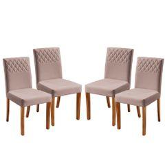 Kit-4-Cadeiras-de-Jantar-Estofada-Rose-em-Veludo-Yarim
