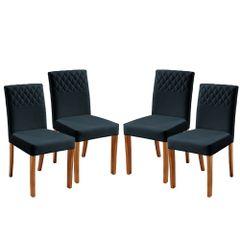 Kit-4-Cadeiras-de-Jantar-Estofada-Azul-em-Veludo-Yarim