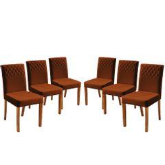 Kit-6-Cadeiras-de-Jantar-Estofada-Ocre-em-Veludo-Yarim