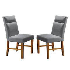 Kit-2-Cadeiras-de-Jantar-Estofada-Cinza-em-Veludo-Yastik