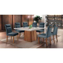 Kit-2-Cadeiras-de-Jantar-Estofada-Azul-em-Veludo-Yastik---Ambiente
