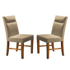 Kit-2-Cadeiras-de-Jantar-Estofada-Bege-em-Veludo-Yastik