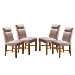 Kit-4-Cadeiras-de-Jantar-Estofada-Rose-em-Veludo-Yastik