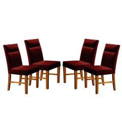 Kit-4-Cadeiras-de-Jantar-Estofada-Bordo-em-Veludo-Yastik