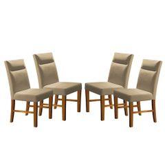 Kit-4-Cadeiras-de-Jantar-Estofada-Bege-em-Veludo-Yastik