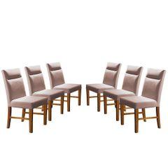 Kit-6-Cadeiras-de-Jantar-Estofada-Rose-em-Veludo-Yastik