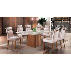 Kit-6-Cadeiras-de-Jantar-Estofada-Rose-em-Veludo-Yastik---Ambiente