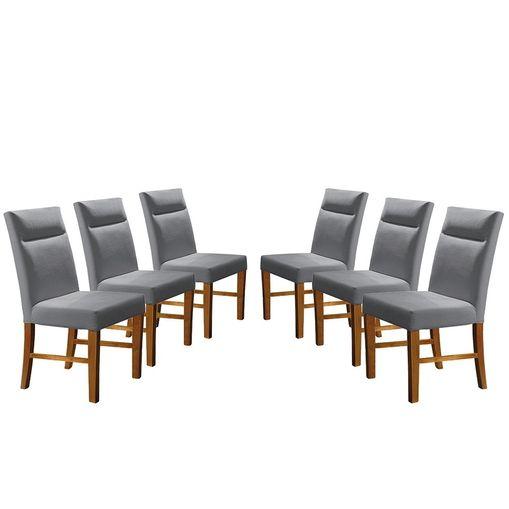 Kit-6-Cadeiras-de-Jantar-Estofada-Cinza-em-Veludo-Yastik