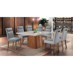 Kit-6-Cadeiras-de-Jantar-Estofada-Cinza-em-Veludo-Yastik---Ambiente
