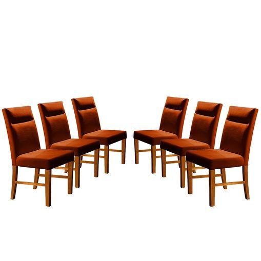 Kit-6-Cadeiras-de-Jantar-Estofada-Ocre-em-Veludo-Yastik