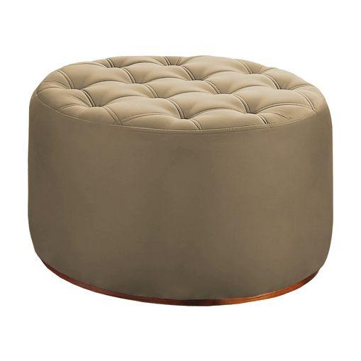 Puff-Decorativo-Bege-em-Veludo-63cm-Bulut